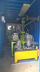 GH 50 PUR magasnyomású habosítógép